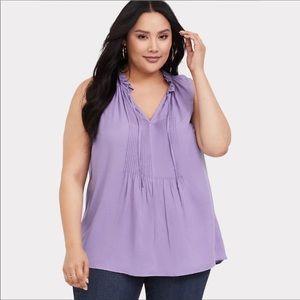 Torrid purple top